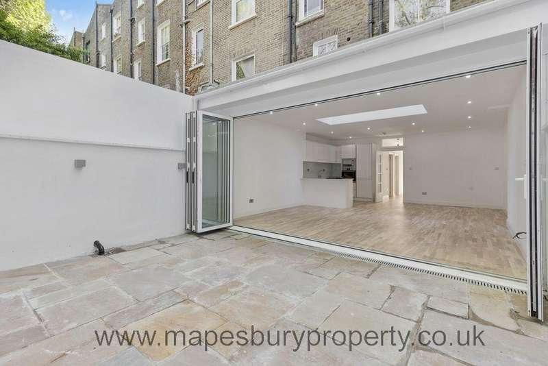 2 Bedrooms Flat for sale in Lower Ground Floor Maisonette, Belsize Road, London, NW6