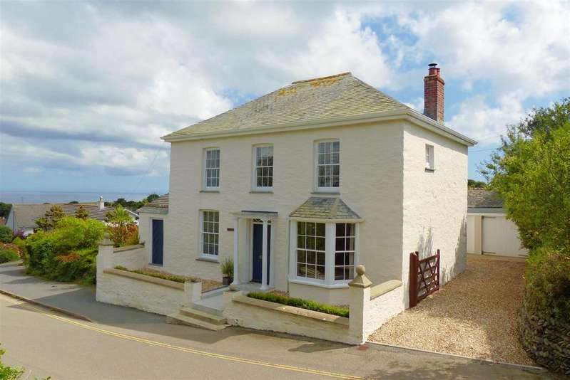 4 Bedrooms Detached House for sale in Gerrans, Portscatho