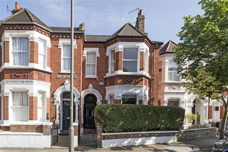 4 Bedrooms Terraced House for sale in Cicada Road, Wandsworth, London, SW18