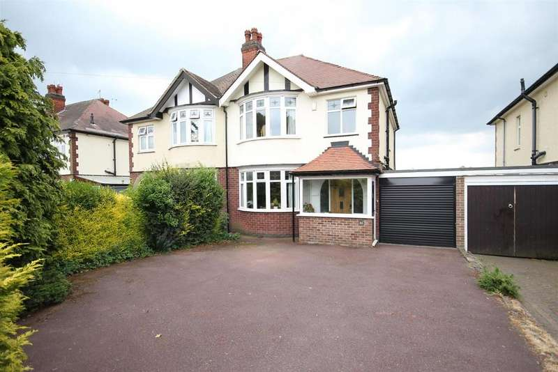 3 Bedrooms Semi Detached House for sale in Western Road, Mickleover, Derby