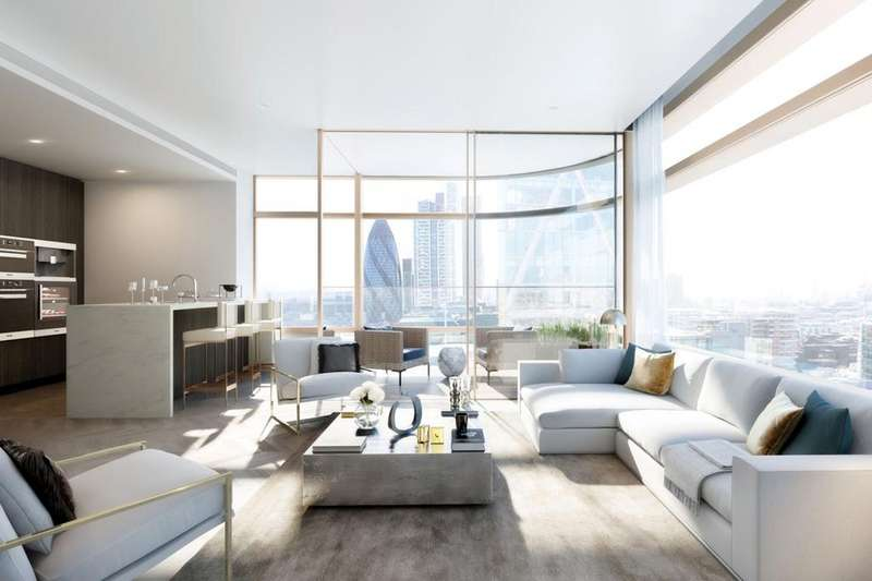3 Bedrooms Flat for sale in Principal Place, Worship Place, Shoreditch EC2A