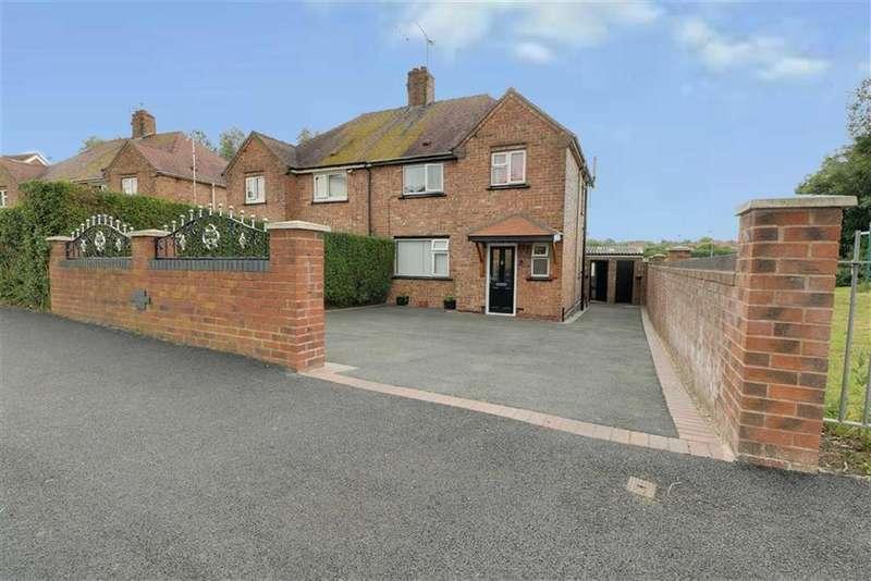 3 Bedrooms Semi Detached House for sale in Rolls Avenue, Crewe