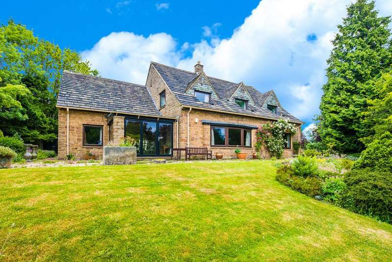4 Bedrooms Detached House for sale in Over End, Baslow, Bakewell