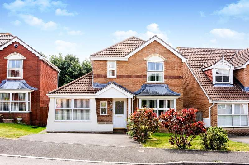4 Bedrooms Detached House for sale in Melyn Y Gors, Barry