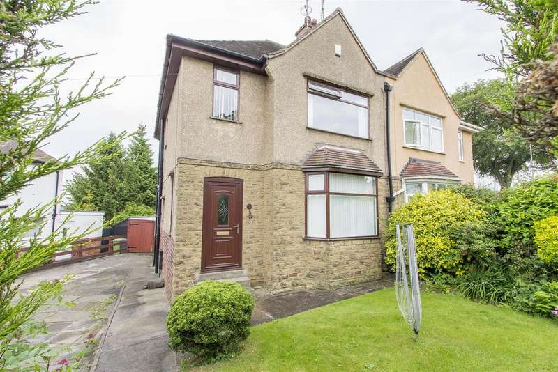 3 Bedrooms Semi Detached House for sale in Clarkson Avenue, Boythorpe, Chesterfield