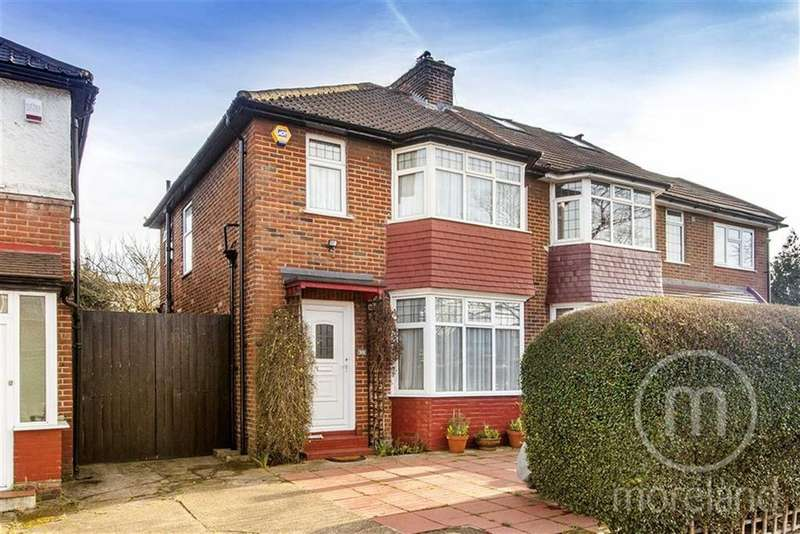 3 Bedrooms Semi Detached House for sale in Pennine Drive, Golders Green Estate, NW2