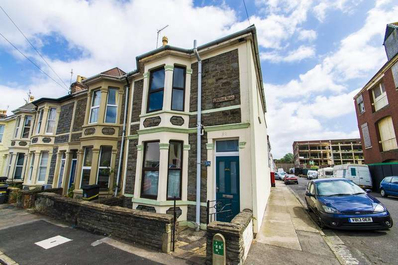 3 Bedrooms End Of Terrace House for sale in Carlyle Road, Bristol, BS5 6HG