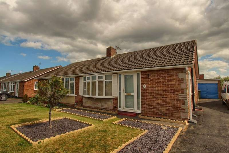 2 Bedrooms Semi Detached Bungalow for sale in Sinnington Road, Thornaby