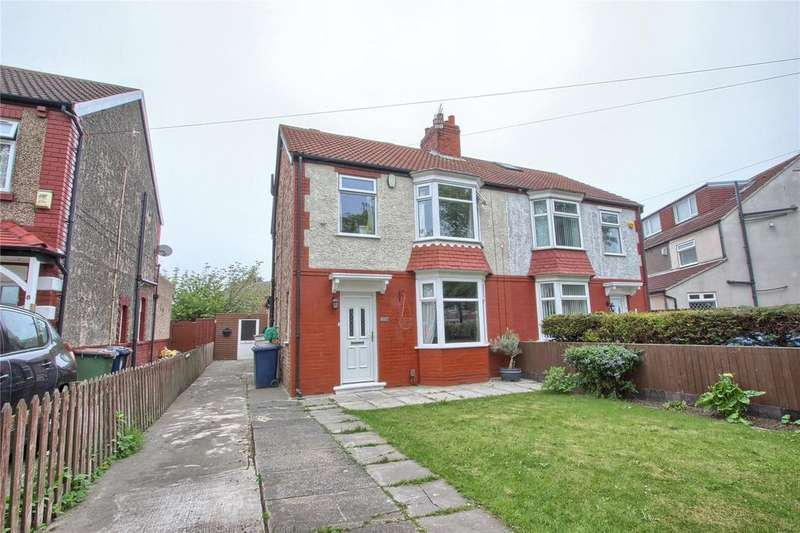 3 Bedrooms Semi Detached House for sale in Chestnut Avenue, Redcar