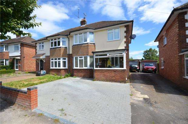 3 Bedrooms Semi Detached House for sale in Morley Road, Basingstoke, Hampshire