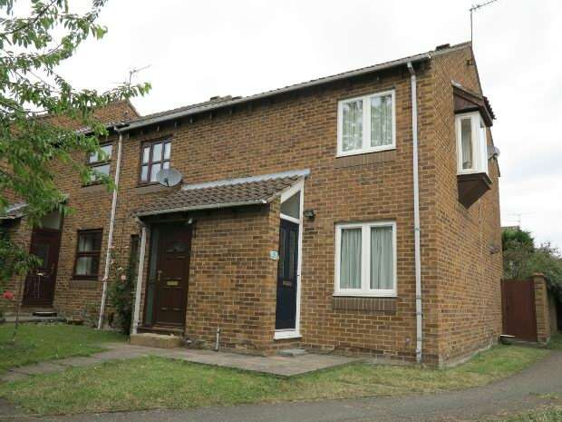 2 Bedrooms End Of Terrace House for sale in Bridport Close, Lower Earley, Reading