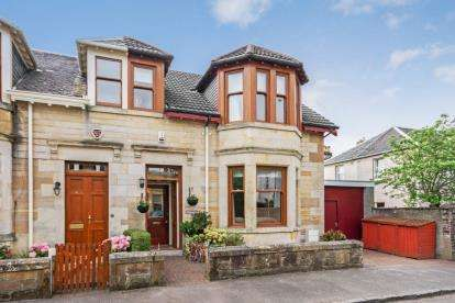 3 Bedrooms Semi Detached House for sale in Mathieson Street, Paisley