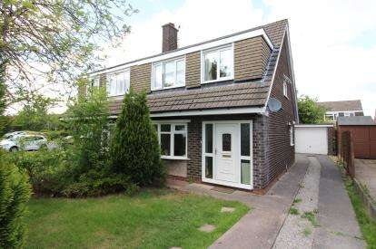 3 Bedrooms Semi Detached House for sale in Gleneagles Close, Bramhall, Cheshire, .