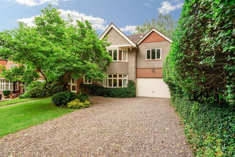 6 Bedrooms Detached House for sale in Serpentine Road, Selly Park, Birmingham, B29 7HU