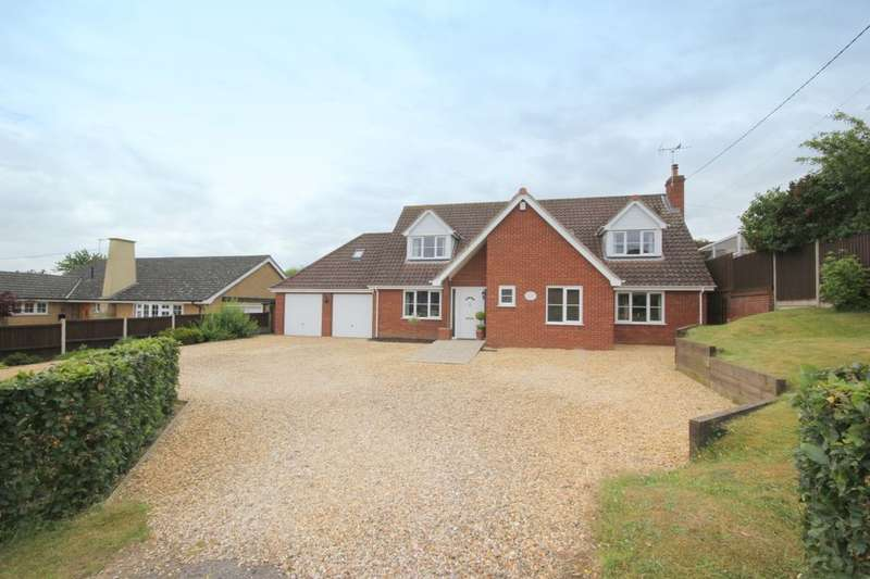 4 Bedrooms Detached House for sale in Kabin Road, Costessey, Norwich, NR5
