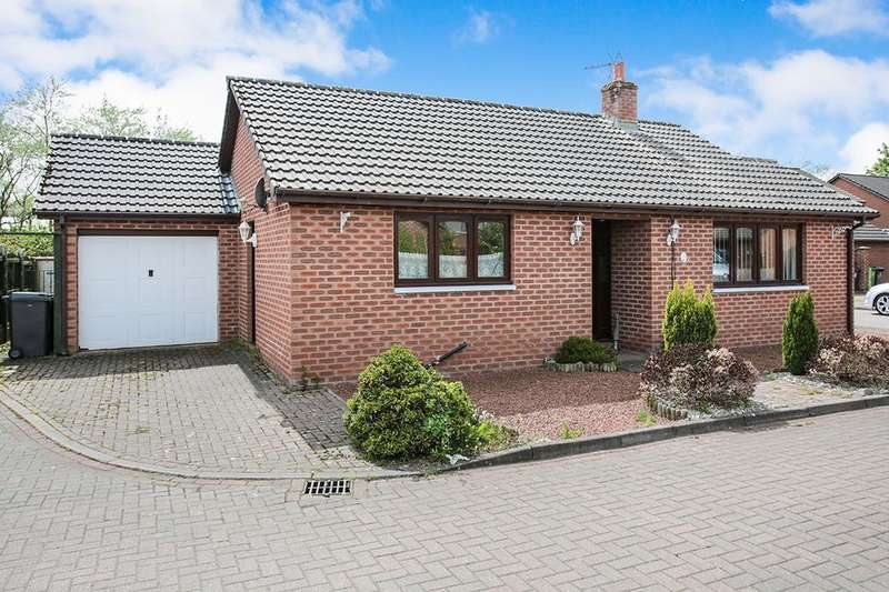 2 Bedrooms Detached Bungalow for sale in Briar Lea Court, Longtown, Carlisle, CA6