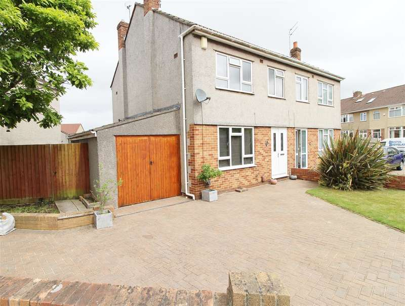 3 Bedrooms Semi Detached House for sale in Quakers Road, Bristol