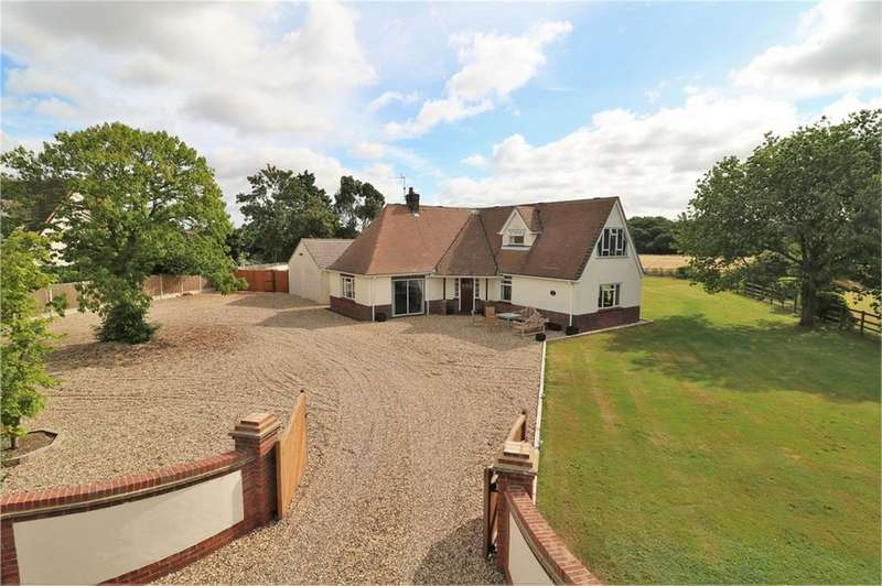 4 Bedrooms Detached House for sale in Alresford Road, Wivenhoe, Essex