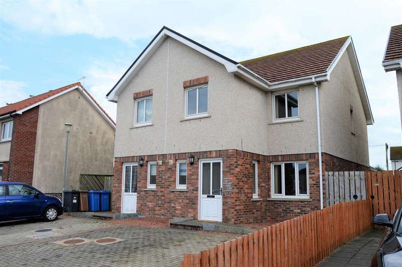 3 Bedrooms Semi Detached House for sale in ARDOCH CRESCENT , STEVENSTON KA20