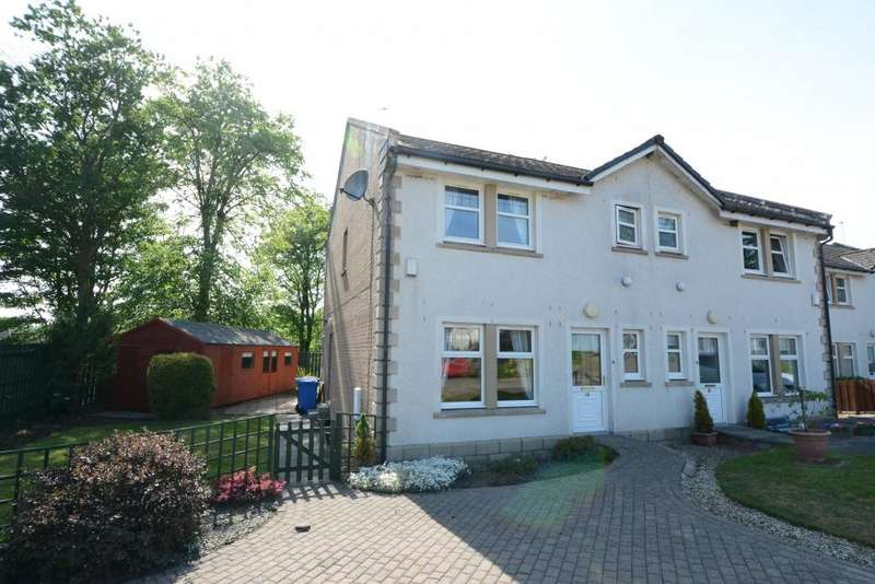 3 Bedrooms Semi Detached House for sale in 19 Redheugh Court, Kilbirnie, KA25 7JN