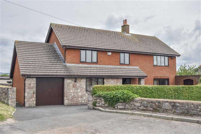 4 Bedrooms Detached House for sale in Maes Yr Eglwys, Denbigh, Denbigh