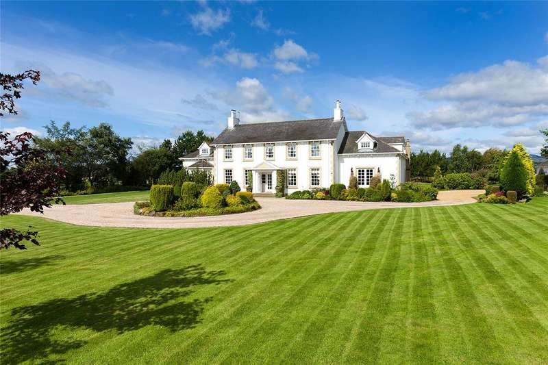 6 Bedrooms Equestrian Facility Character Property for sale in Moss-Side Hall Of Boquhapple, Thornhill, Stirling, FK8