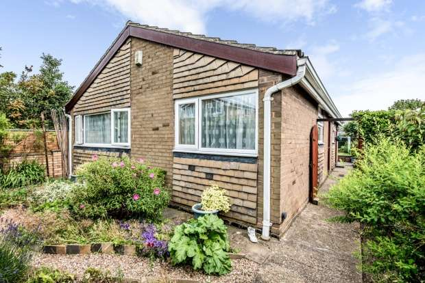 3 Bedrooms Detached Bungalow for sale in Alfred Cope Road, Sandy, Bedfordshire, SG19 1LX