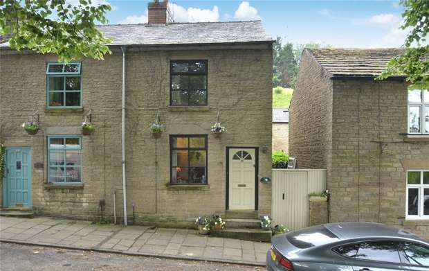 2 Bedrooms Semi Detached House for sale in Ingersley Road, Bollington, Macclesfield, Cheshire