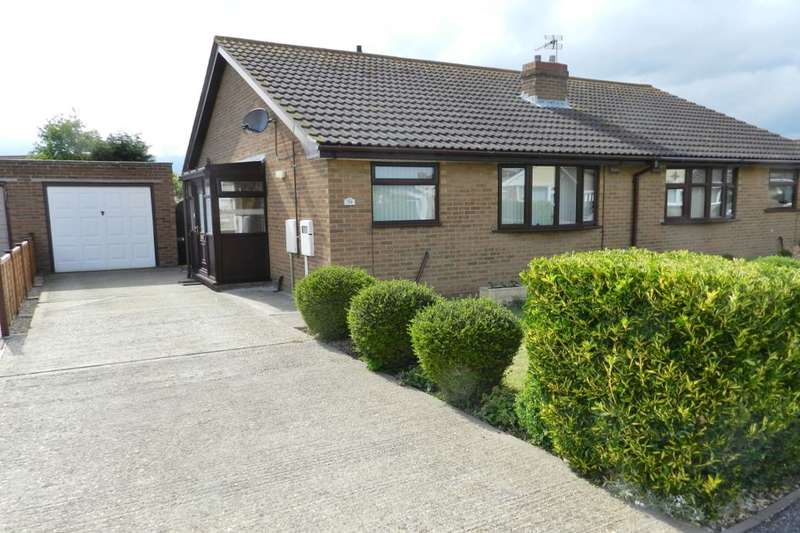 2 Bedrooms Semi Detached Bungalow for sale in Jacklin Crescent, Mablethorpe, LN12
