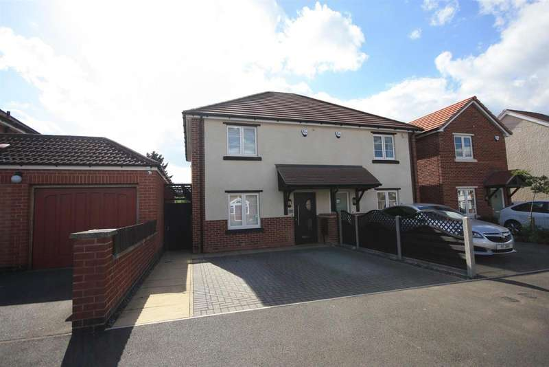 3 Bedrooms Detached House for sale in Stonehill Avenue, Birstall, Leicester
