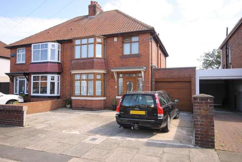 3 Bedrooms Semi Detached House for sale in Westbrooke Avenue, Brooke Estate, Hartlepool