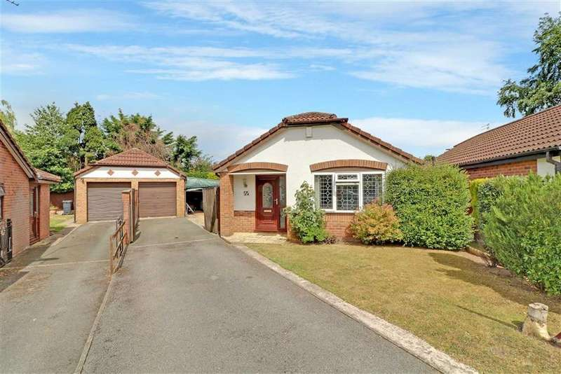 2 Bedrooms Detached Bungalow for sale in Barnbrook Close, Winsford, Cheshire