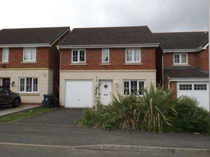 4 Bedrooms Detached House for sale in Melia Drive, Wednesbury, West Midlands