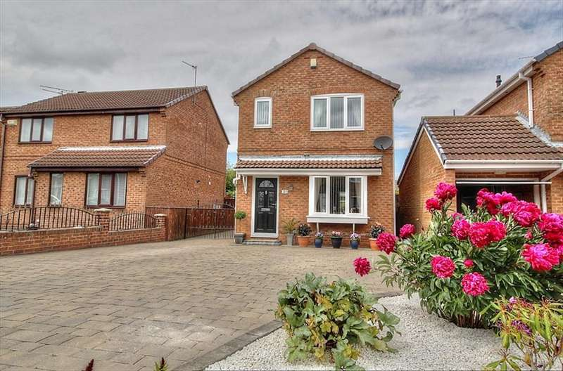 3 Bedrooms Detached House for sale in Follingsby Drive , NE10 8YH