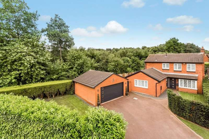 4 Bedrooms Detached House for sale in Cedar Close, Darnford Park, Lichfield