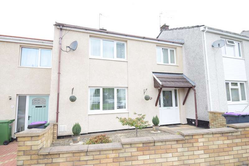 3 Bedrooms Terraced House for sale in Radnor Way, Cwmbran, NP44