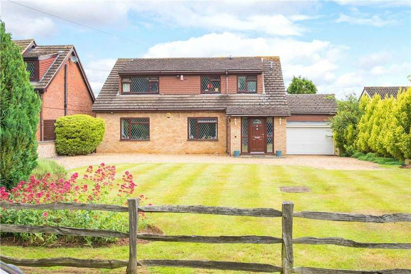 4 Bedrooms Detached House for sale in Ampthill Road, Silsoe, Bedford, Bedfordshire