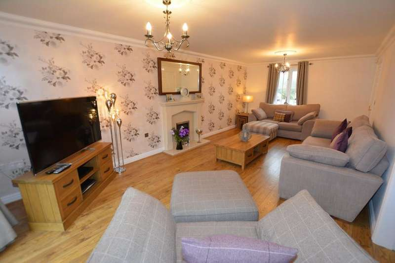 4 Bedrooms Detached House for sale in Longmead Drive, Fiskerton, Southwell