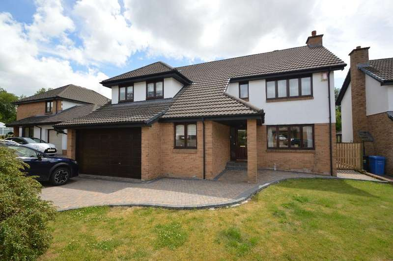 5 Bedrooms Detached House for sale in Langmuir Avenue, Perceton, Irvine, North Ayrshire, KA11 2DS