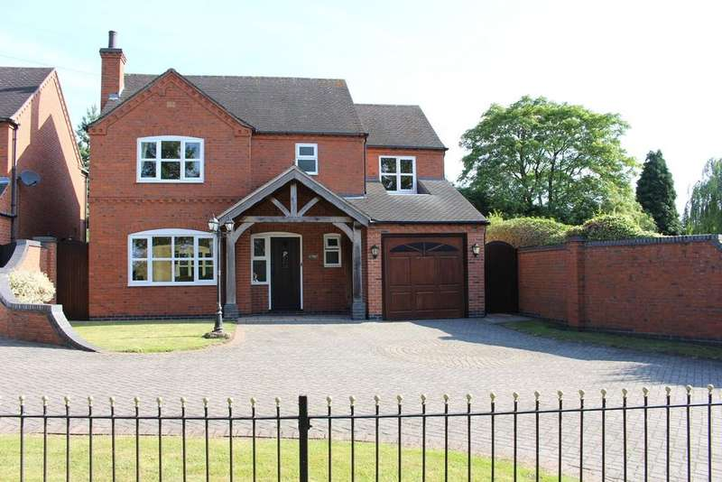 5 Bedrooms Detached House for sale in Rectory Lane, Appleby Magna, DE12