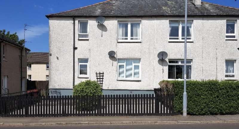 2 Bedrooms Ground Flat for sale in Well Road, Auchinleck KA18