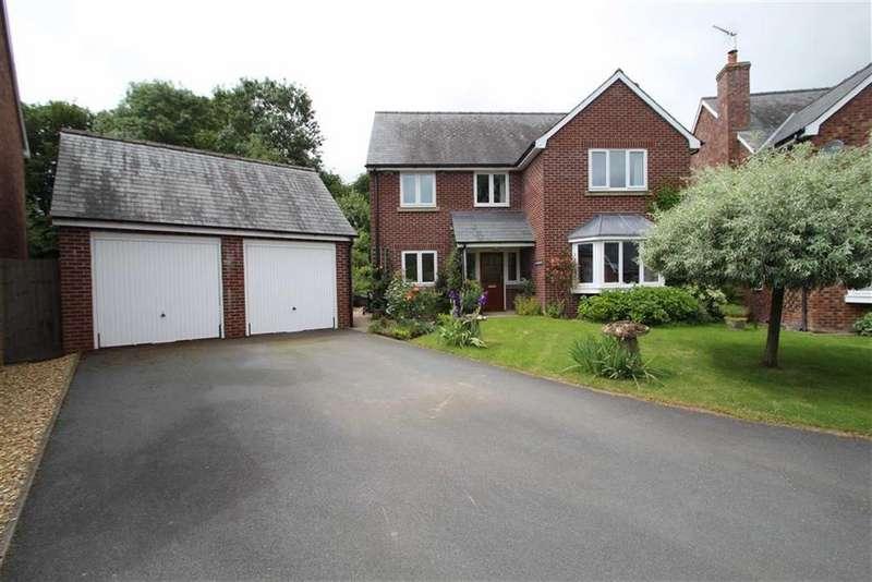 4 Bedrooms Detached House for sale in Pen Offa, NORTON, Norton, Powys