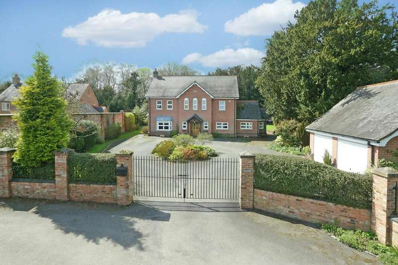 5 Bedrooms Detached House for sale in Lullington, Derbyshire, DE12