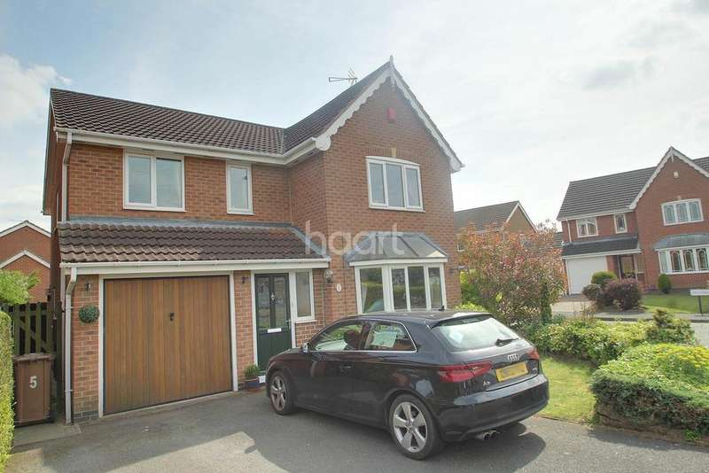 4 Bedrooms Detached House for sale in Sevenlands Drive, Boulton Moor