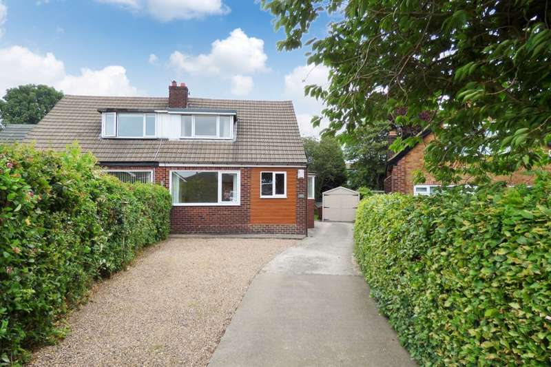 3 Bedrooms Semi Detached Bungalow for sale in Sunny Bank Grove, Thornbury, Bradford, BD3