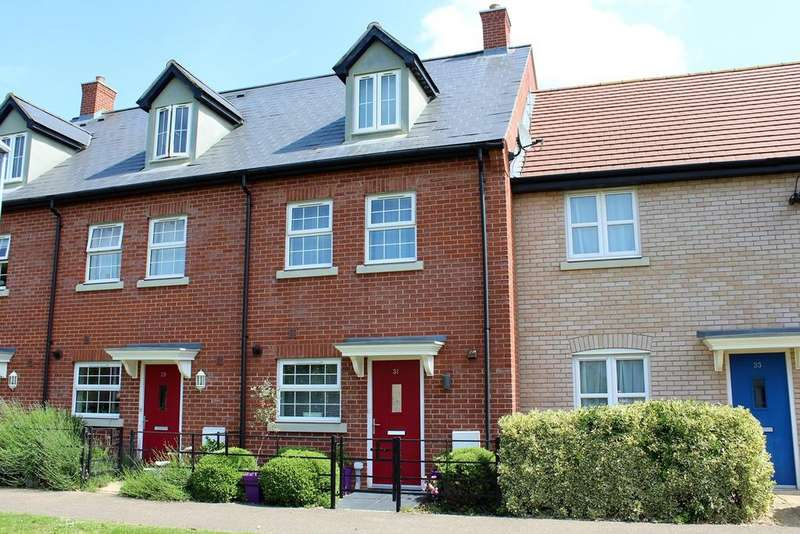 4 Bedrooms Terraced House for sale in Meadow Walk, Henlow, SG16