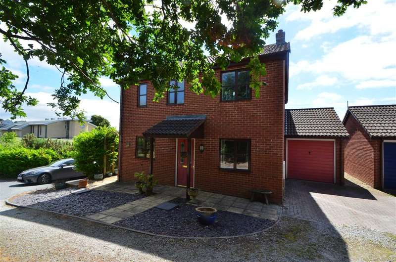 3 Bedrooms Detached House for sale in Thompson Close, Dawlish