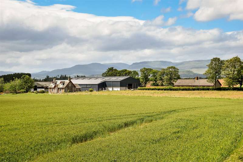 3 Bedrooms Farm Commercial for sale in Muir O'Lea Farm, By Crieff, Perthshire, PH7