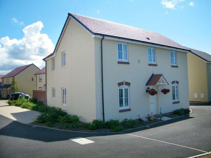 4 Bedrooms Detached House for sale in Wentworth Close, Hubberston, Milford Haven