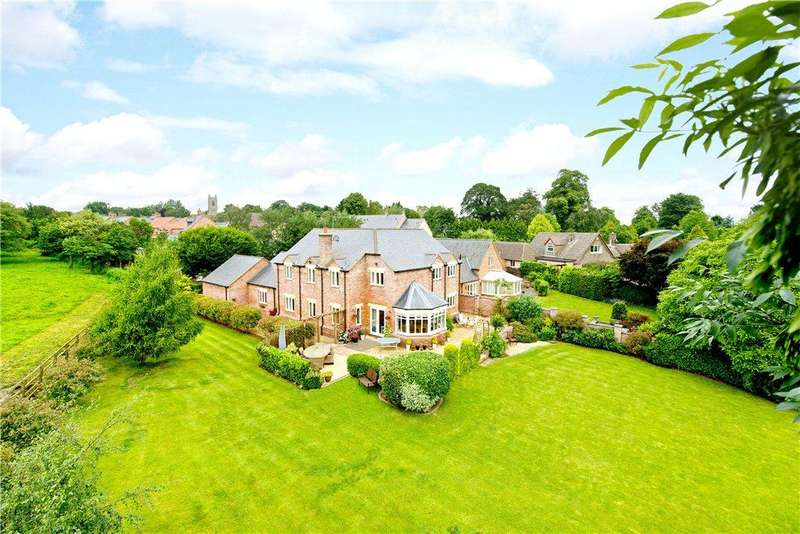 4 Bedrooms Detached House for sale in Norlinton Close, Orlingbury, Northamptonshire